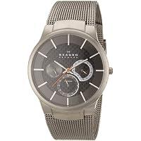 Skagen Men's 809XLTTM Carbon Fiber Dial Titanium Watch
