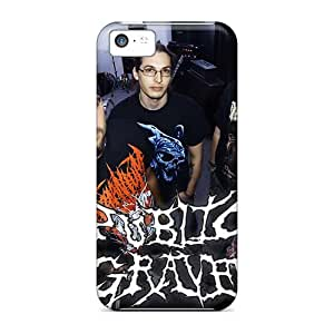 Iphone 5c Zgn13732bggt Allow Personal Design Nice Grave Band Pictures Protective Cell-phone Hard Covers -AlissaDubois