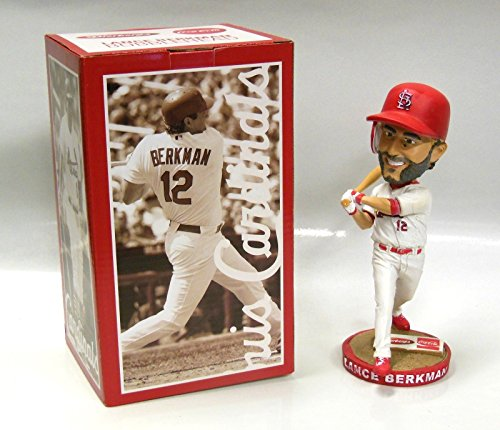 LANCE BERKMAN ST LOUIS CARDINALS BOBBLEHEAD SGA NIB 9/27/15 - Ticket Art Wall Baseball