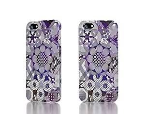 Apple iPhone 5 / 5S Case - The Best 3D Full Wrap iPhone Case - abstract patterns artwork smashing