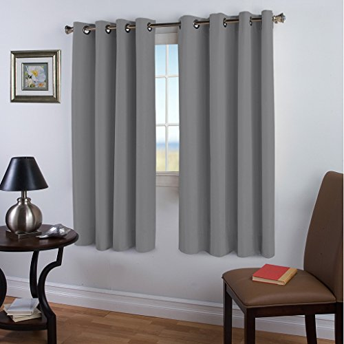 Blackout Darkening Curtains Insulated TURQUOIZE product image