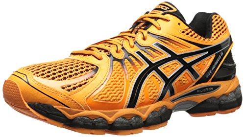 asics-mens-gel-nimbus-15-running-shoe-10-dm-us-flash-orange-black-silver