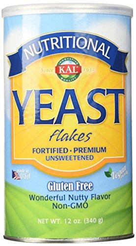 Nutritional Yeast Flakes Kal 12 oz Flake