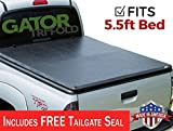 Gator ETX Soft Tri-Fold Truck Bed Tonneau Cover   59504   2004 - 2012 Nissan Titan 5.6' bed without rail system   MADE IN THE USA
