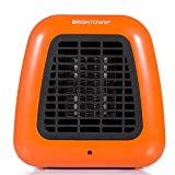 Portable-Mini Heater 400-Watt Personal Ceramic Space Heater for Office Desktop Table Home Dorm, ETL Listed for Safe Use, Orange