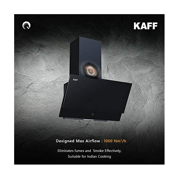 KAFF-NOVA-SV-60-Full-Black-Tempered-Glass-Energy-Saving-LED-Light-Touch-Controls-Aluminium-Filter