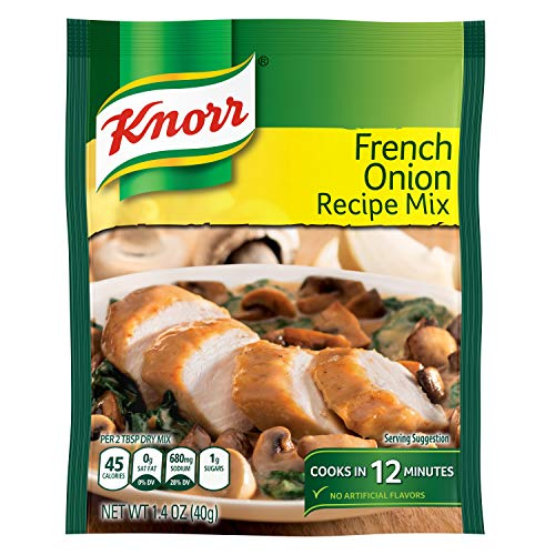 Knorr Recipe Mix, French Onion, 1.4 oz(Pack Of 12) ()