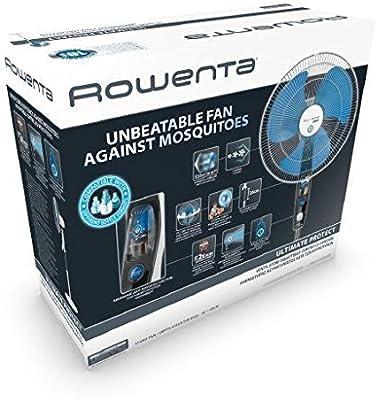 Rowenta vu4210 F0 Ultimate Protect Ventilador a pie con líquido ...