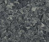 American Abrasive Supply, Vinyl Chip Blend Basalt (Stone) 1/4'', VCPBASAS