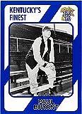 "Paul Bryant ""Bear"" Football Card (Kentucky Wildcats, Coach) 1989 Collegiate Collection #11"