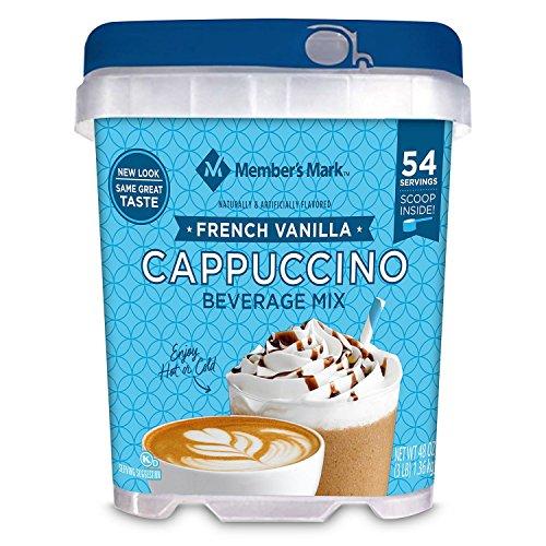 (Member's Mark French Vanilla Cappuccino Beverage Mix (48 oz.) 54 Servings)