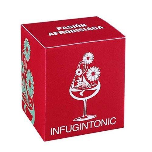 Aphrodisiac Passion Refill 12 Handmade Gin Tonic Tea Bags Spice Mix Gin Flavoring Vodka Rum – Cinnamon, Pineapple, Coconut, Ginger, Papaya, Mango, C…
