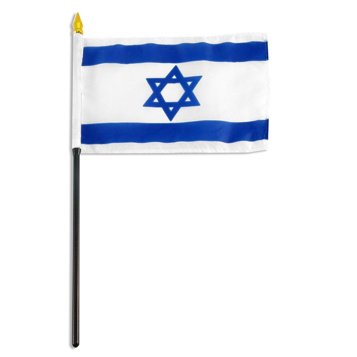 4x6 Inch Israeli Flag
