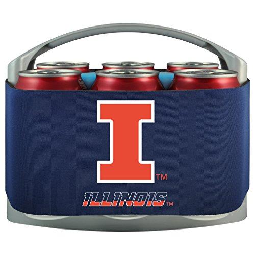 NCAA Illinois Fighting Illini Cool Six (Illinois Fighting Illini Tailgate)