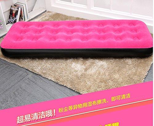 Colchón inflable del colchón de aire de de de NVZJNDS que acampa que acampa casero espesamiento que eleva la cama de vapor portátil al aire libre, 76cm  193cm  22cm gris B 3ad49e