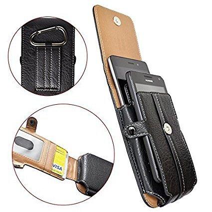 50 opinioni per Custodia a sacchetto per smartphone universale portafoglio verticale- passante