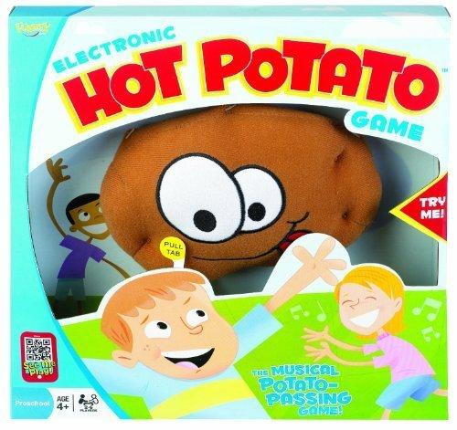 Electronic Hot Potato Game - Electronic Hot Potato Game - Includes Bonus Pop Toob!
