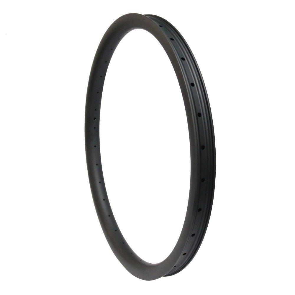 bf67116b8c0 Amazon.com : Hulk-sports MTB Bicycle Rim Carbon Fiber Hookless Downhill  650B 32mm Depth 40mm Width : Sports & Outdoors