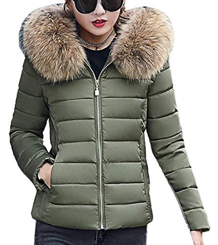 Fashion Sintetica Corto Monocromo Giacca Di Moda Invernali Schwarz Mantello Ragazza Fit Slim Piumini Con Cappotto Caldo Donna Elegante Pelliccia Cappuccio qWzUq4B6
