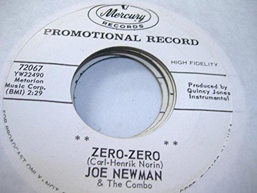 JOE NEWMAN 45 RPM Zero-Zero / In A Little Spanish Town