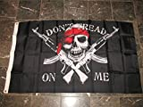 3x5 Gadsden Dont Tread On Me Pirate Jolly Roger AK-47 Nylon Flag 3'x5' Grommets