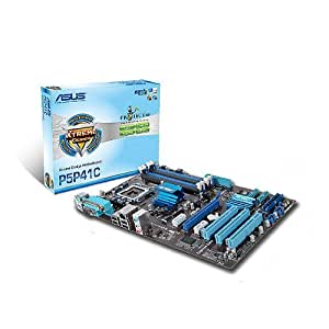 ASUS P5P41C - Placa base (8 GB, Intel, Socket T (LGA 775), Gigabit Ethernet, ATX, 7.1)