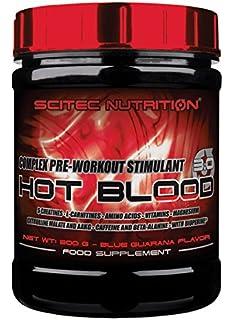 Scitec Nutrition Hot Blood 3.0 fórmula pre entrenamiento Blue gueraná 300 g