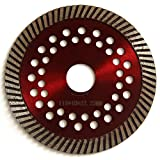 Easy Light 4.5 Inch Rim Diamond Saw Blade Cutting Segment with 7/8-Inch Arbor for Concrete Brick Stone