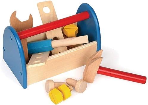 takestop® - Caja de Herramientas de Juguete para niños, de ...