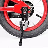 AISHEMI Alloy Bike Bicycle Kickstand Single Non-Slip Bicycle Side Stand Support Rear Mount