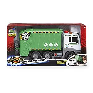 Amazon Com Fast Lane Pump Action Garbage Truck Toys Amp Games