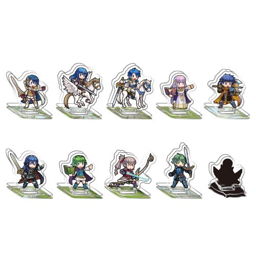 Fire Emblem Heroes - Mini Acrylic Figure Collection Vol.1 10Pack BOX