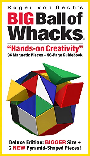 Creative Whack Company Roger von Oech's Big Ball of Whacks, (Roger Von Oechs Ball)