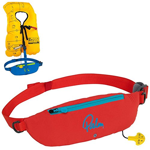 Palm 2016 Glide Waist Belt 100N Personal Floatation Device 11731 Red by Palm
