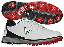 Callaway Men's Balboa Trx Golf Shoe, Whiteblack, 10 2e Us