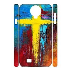 Cases Of Cross 3D Bumper Plastic Cell phone Case For Samsung Galaxy S4 i9500
