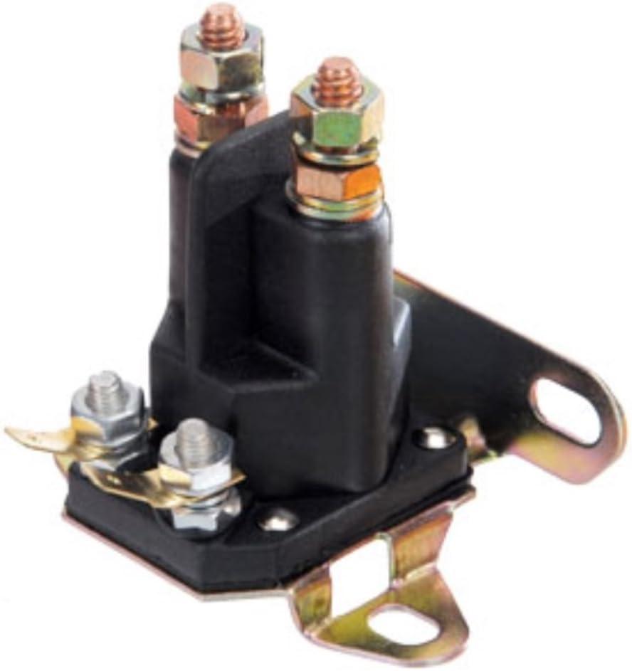 4 pole solenoid wiring diagram amazon com universal starter solenoid  craftsman poulan 146154  universal starter solenoid  craftsman