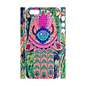 Hamsa Custom 3D Cover Case for iPhone 5,5S by Nickcase