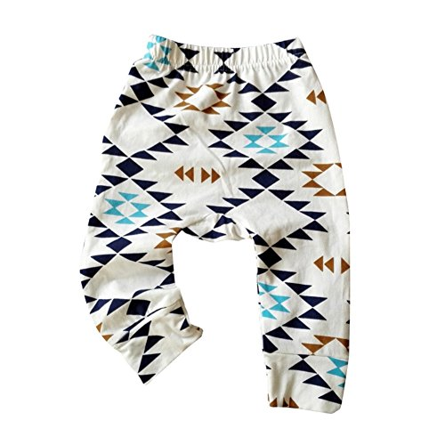 Weixinbuy Toddler Boys Girls Cozy PP Pants Autumn Trousers, Color A, 6-12M ()