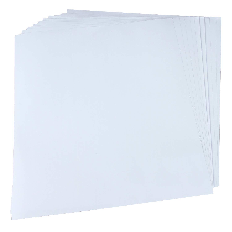 RUSPEPA 30X38Cm Antihaft-Silikonpapier, Für Transferpresse - 20 Stück