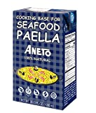 Aneto Seafood Paella Cooking Base Broth, 33.83 Fluid Ounce