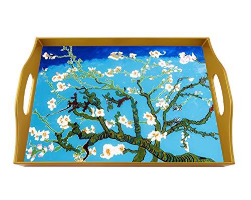 Rectangular serving tray - Van Gogh : Amandier en fleurs ()