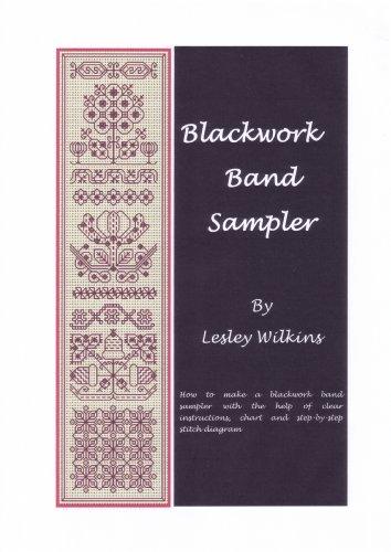BLACKWORK BAND SAMPLER (BLACKWORK SAMPLERS Book 1)