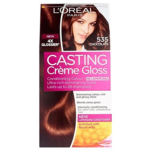 L'Oreal Casting Creme Gloss Chocolate 535 (PACK OF 6) by L'Oreal Paris