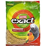 Kaytee Exact Natural Parrot and Conure Premium Daily Diet, 4-Pound, My Pet Supplies