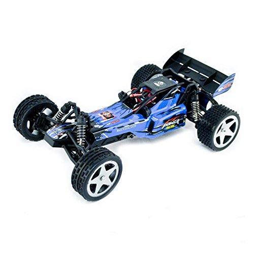 (ALEKO 66202 Electric Powered Brushless Motor High Speed Off-Road Buggy, Blue 1/12 Scale)