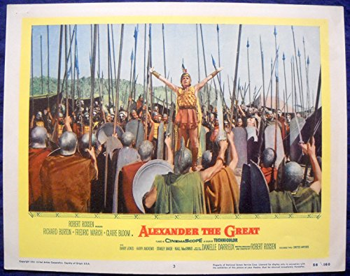 ALEXANDER THE GREAT MOVIE POSTER-Richard Burton l/c (Alexander Movie Poster)