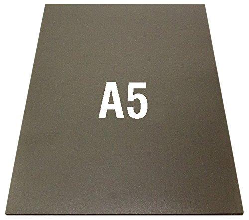 First4magnets F4MA53MN-1 3M Feuille magn/étique auto adh/ésive flexible N/éodyme A5