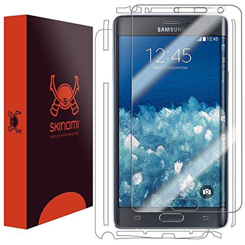Samsung Galaxy Note Edge Screen Protector + Full Body, Skinomi TechSkin Full Coverage Skin + Screen Protector for Samsung Galaxy Note Edge Front & Back Clear HD Film (Note Edge Skinomi compare prices)