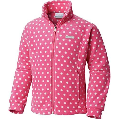 Columbia Benton Springs II Printed Fleece Jacket - Toddler Girls' Wild Geranium Polkadot, - Fleece Polka Dot